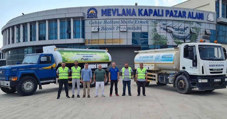 Gebze Belediyesi Antalya İçin Destek Yolladı