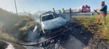Kuzey Marmara Otoyolu'nda Kaza Oldu